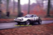 "Lancia Stratos . Bjorn Waldegard 1975 RAC Rally. 10x7"" photo"